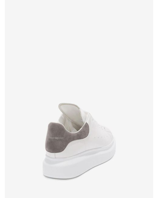 Lyst Alexander Mcqueen Oversized Sneaker In White