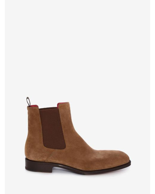 Alexander McQueen - Brown Goodyear Chelsea Boot - Lyst