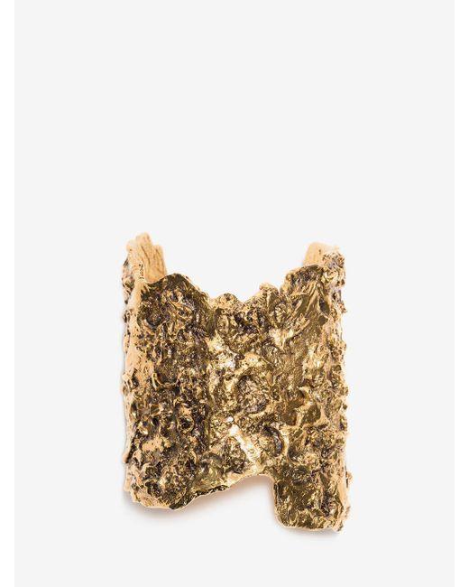 Alexander McQueen | Metallic Bracelet | Lyst