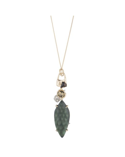 Alexis Bittar | Multicolor Long Rocky Pendant Necklace You Might Also Like | Lyst