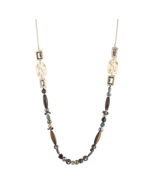 Alexis Bittar | Multicolor Four Stone Beaded Station Necklace You Might Also Like | Lyst