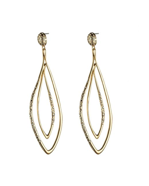 Alexis Bittar | Metallic Liquid Gold Orbiting Post Earring You Might Also Like | Lyst