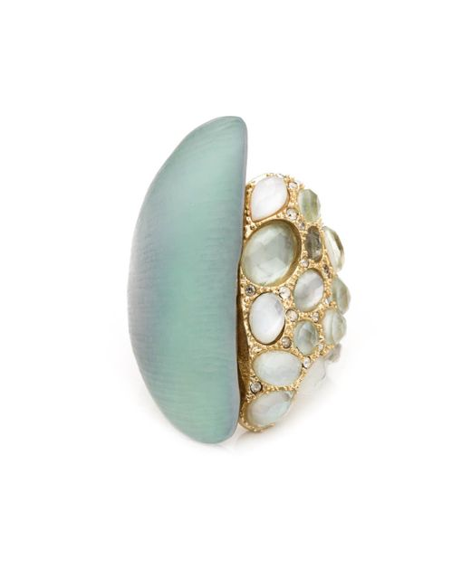 Alexis Bittar | Gray Vert D'eau Overlapping Ring You Might Also Like | Lyst