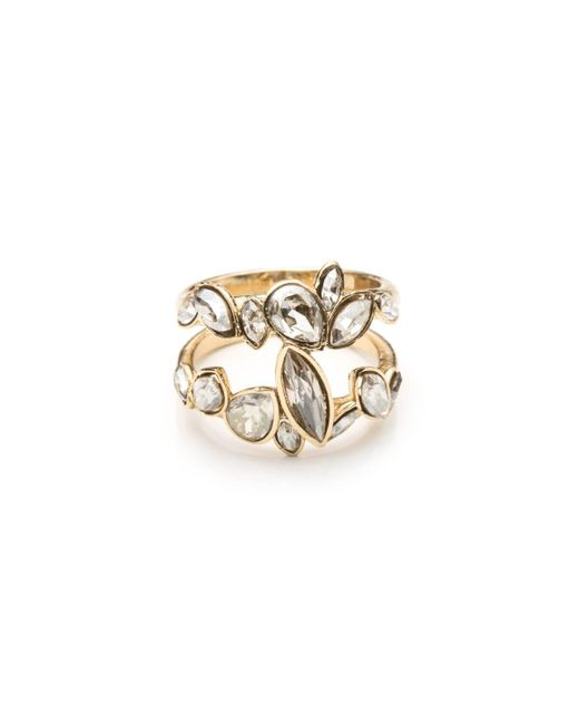Alexis Bittar | Metallic Gold Liquid Crystal Stacking Ring You Might Also Like | Lyst