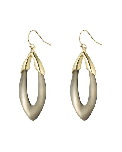 Alexis Bittar | Metallic Gold Marquis Link Earring You Might Also Like | Lyst