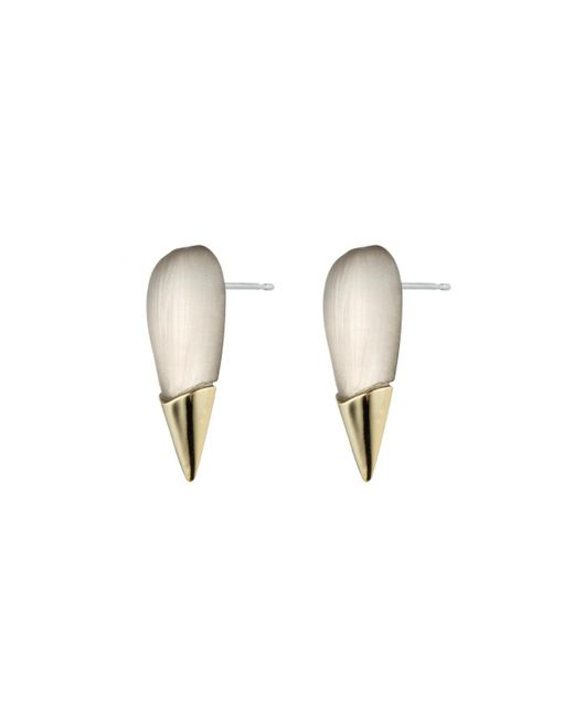 Alexis Bittar | Metallic Gold Capped Spike Stud You Might Also Like | Lyst