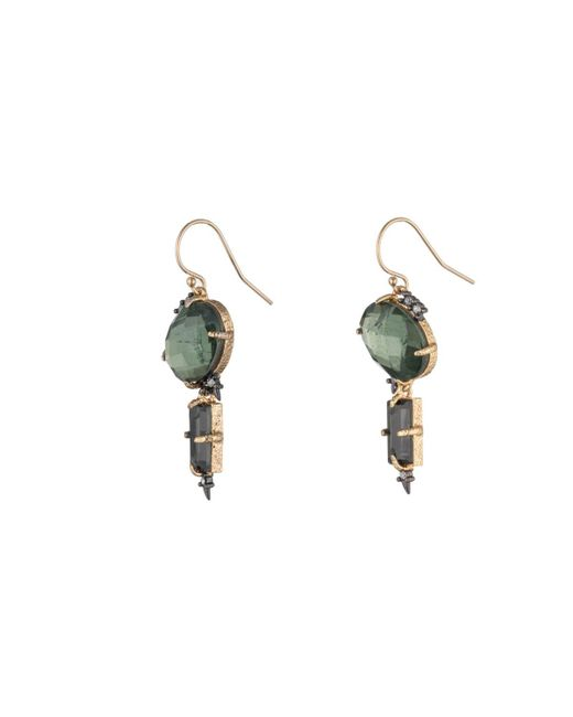 Alexis Bittar | Green Dangling Crystal Spike Earring You Might Also Like | Lyst