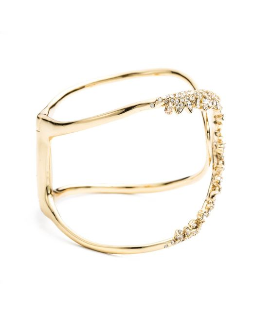 Alexis Bittar | Metallic Jagged Marquis Overlap Hinge Bracelet You Might Also Like | Lyst