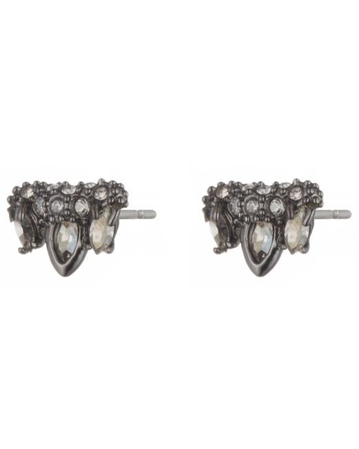 Alexis Bittar | Black Jagged Marquis Cluster Post Earring You Might Also Like | Lyst