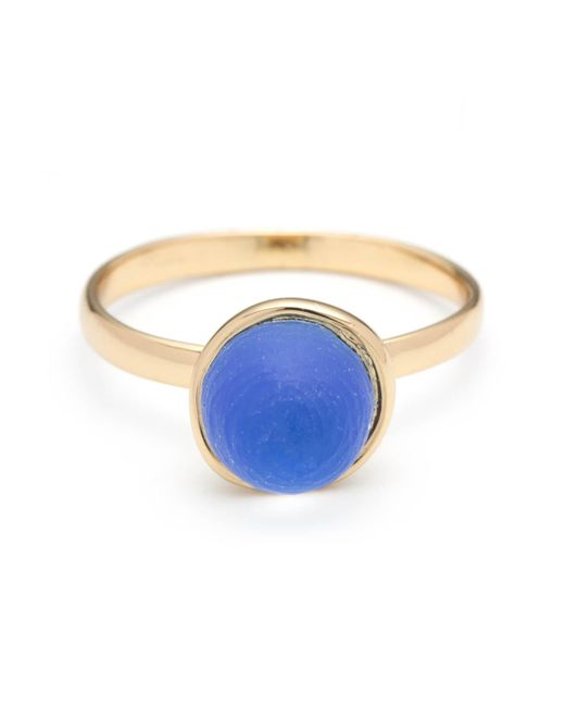 Alexis Bittar | Blue Lucite Mini Sphere Ring You Might Also Like | Lyst