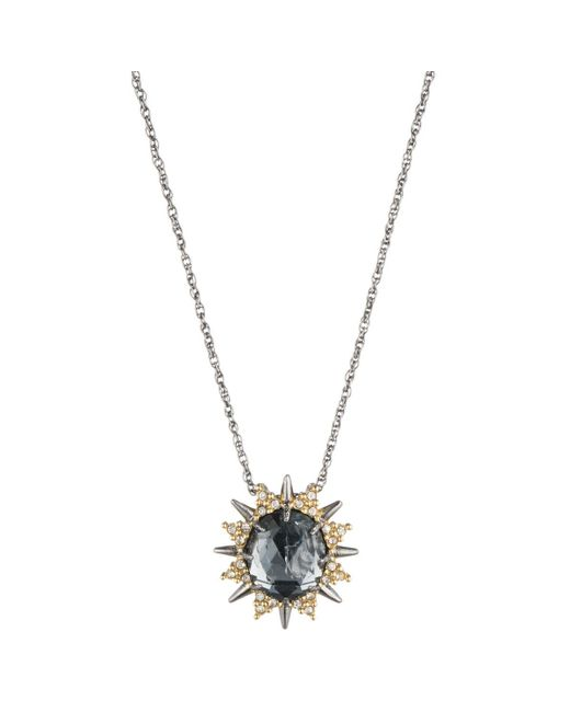 Alexis Bittar | Metallic Spiked Silver Saturn Crystal Pendant You Might Also Like | Lyst