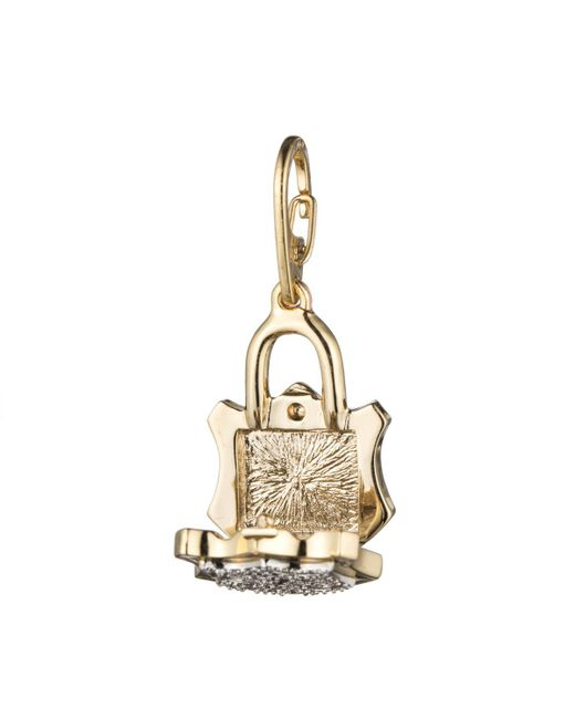Alexis Bittar | Metallic Pave Lock Charm You Might Also Like | Lyst