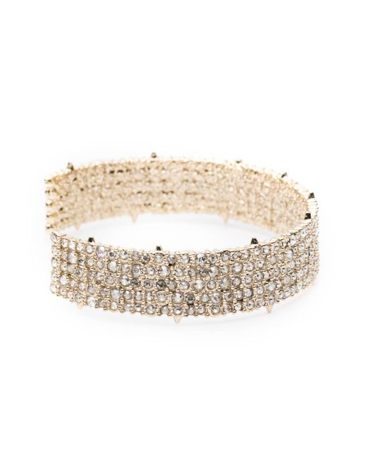 Alexis Bittar | Metallic Crystal Lace Cuff Bracelet You Might Also Like | Lyst