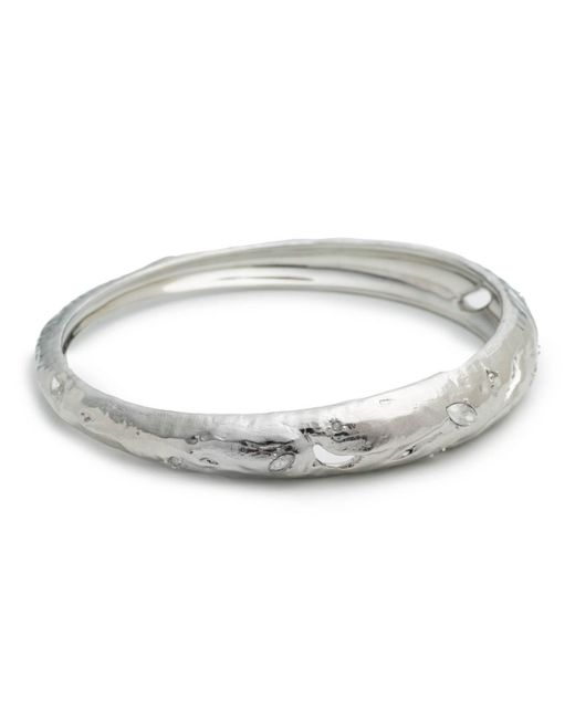 Alexis Bittar - Metallic Skinny Tapered Rocky Metal Bangle Bracelet You Might Also Like - Lyst