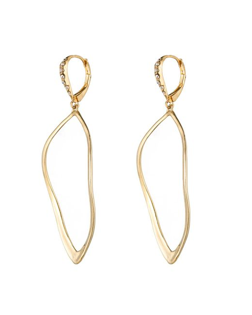 Alexis Bittar | Metallic Gold Sculpted Aura Teardrop Earring You Might Also Like | Lyst
