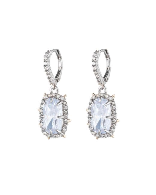 Alexis Bittar - Multicolor Crystal Framed Cushion Lever Back Earring You Might Also Like - Lyst