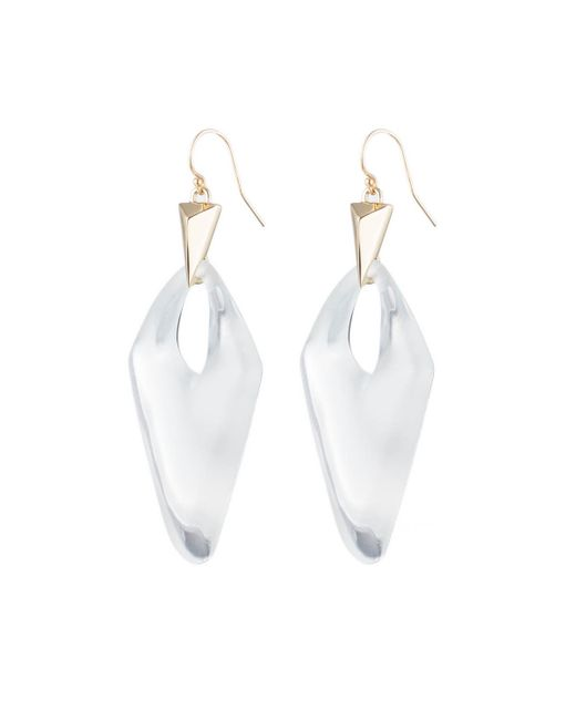 Alexis Bittar   Metallic Pointed Pyramid Drop Earring You Might Also Like   Lyst