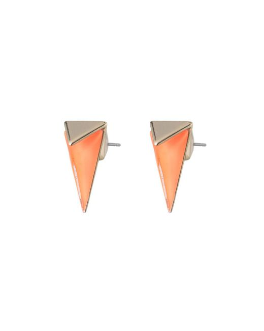 Alexis Bittar | White Faceted Pyramid Post Earring You Might Also Like | Lyst