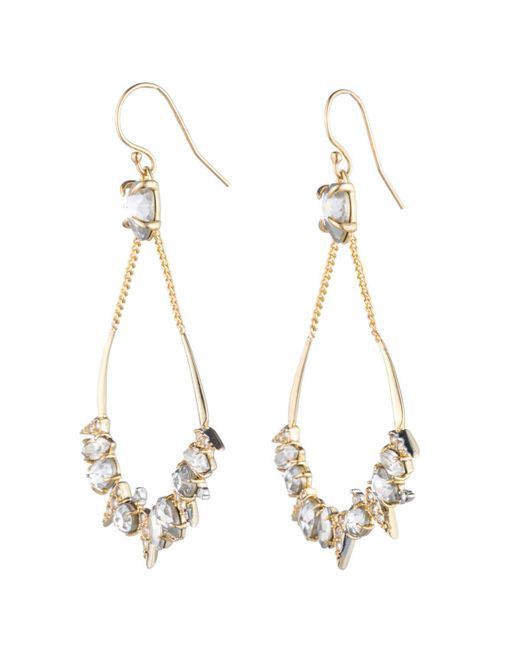 Alexis Bittar | Metallic Crystal Encrusted Mosaic Futurist Tear Earring You Might Also Like | Lyst