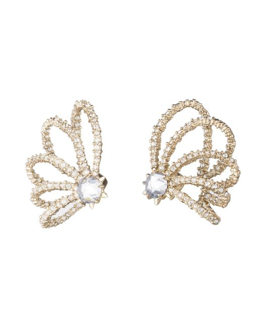 Alexis Bittar | Metallic Crystal Lace Orbiting Post Earring You Might Also Like | Lyst