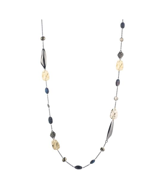 Alexis Bittar | Metallic Ruthenium Station Necklace You Might Also Like | Lyst
