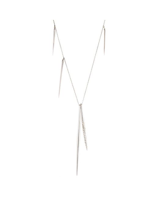 Alexis Bittar - Metallic Crystal Encrusted Long Spear Necklace You Might Also Like - Lyst