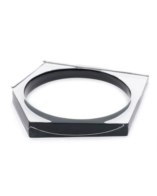 Alexis Bittar | Black Asymmetrical Pentagon Bangle Bracelet You Might Also Like | Lyst