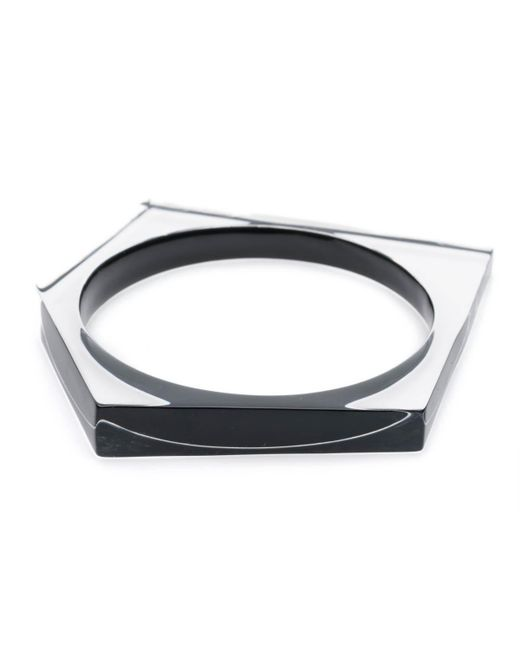 Alexis Bittar | Black Asymmetrical Pentagon Bangle Bracelet You Might Also Like | Lyst