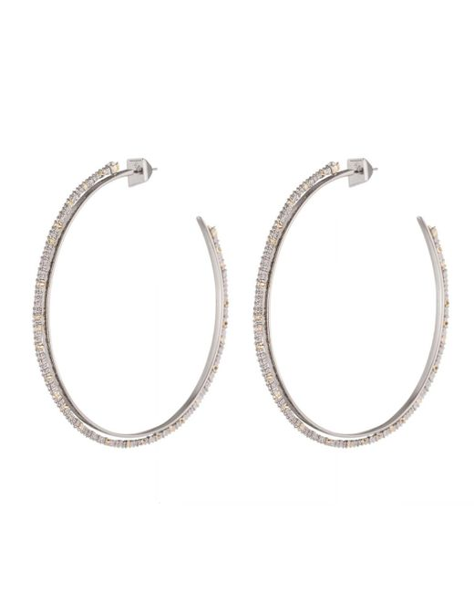 Alexis Bittar - White Crystal Lace Orbiting Hoop Earrings You Might Also Like - Lyst
