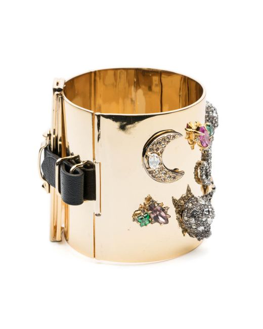 Alexis Bittar - Multicolor Crystal Encrusted Figurine Bondage Hinge Bracelet You Might Also Like - Lyst