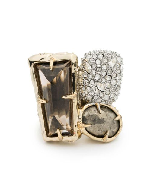 Alexis Bittar | Metallic Rocky Metal Cocktail Ring You Might Also Like | Lyst