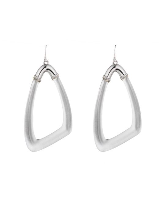 Alexis Bittar - Metallic Asymmetrical Wire Earring You Might Also Like - Lyst
