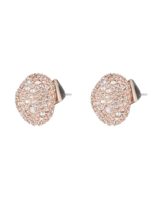 Alexis Bittar - Multicolor Crystal Encrusted Organic Pod Post Earring - Lyst
