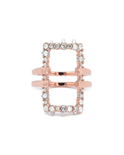 Alexis Bittar - Multicolor Crystal Encrusted Oversize Link Ring You Might Also Like - Lyst