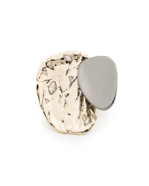 Alexis Bittar | Metallic Textured Multi Level Ring You Might Also Like | Lyst