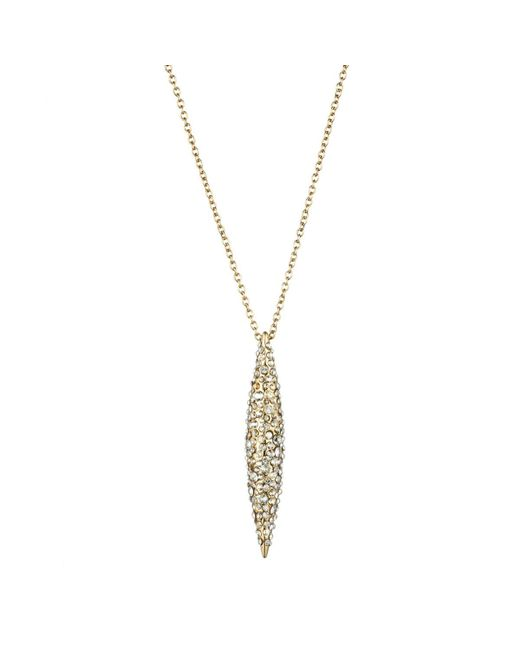 Alexis Bittar | Metallic Gold Crystal Encrusted Spear Necklace You Might Also Like | Lyst