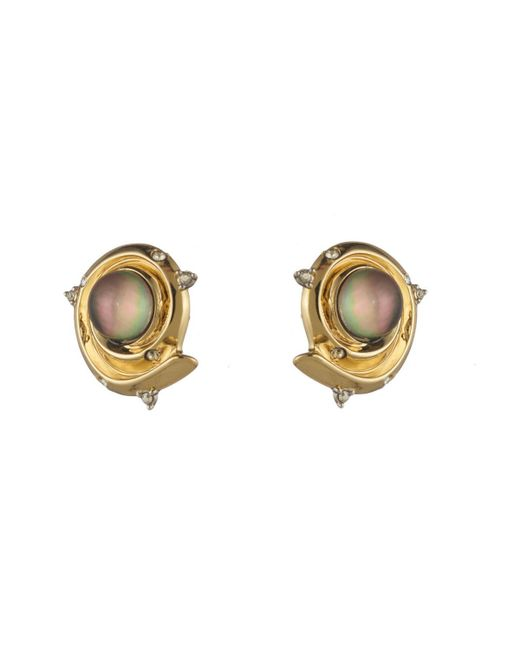 Alexis Bittar | Metallic Golden Array Post Earring You Might Also Like | Lyst