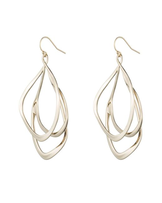 Alexis Bittar - Metallic Liquid Gold Orbiting Wire Earring You Might Also Like - Lyst