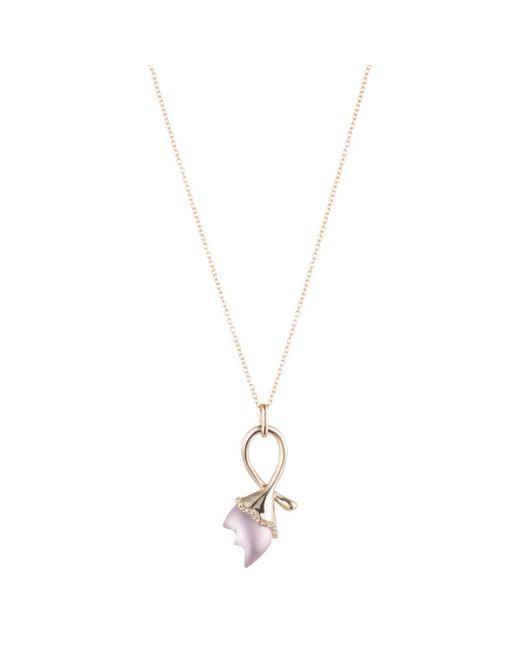 Alexis Bittar - Purple Abstract Tulip Pendant Necklace - Lyst