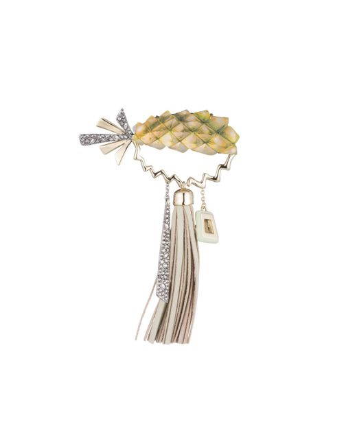 Alexis Bittar - Multicolor Pineapple Leather Tassel Pin You Might Also Like - Lyst
