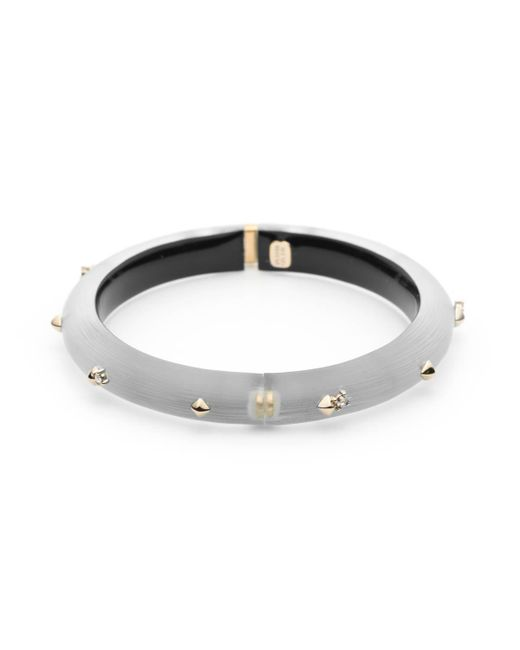 Alexis Bittar - Metallic Golden Studded Hinge Bracelet You Might Also Like - Lyst