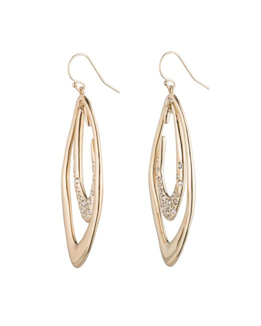 Alexis Bittar | Metallic Asymmetrical Orbiting Earring | Lyst
