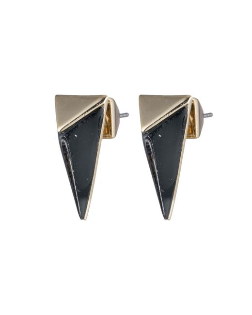 Alexis Bittar - Black Faceted Pyramid Post Earring You Might Also Like - Lyst