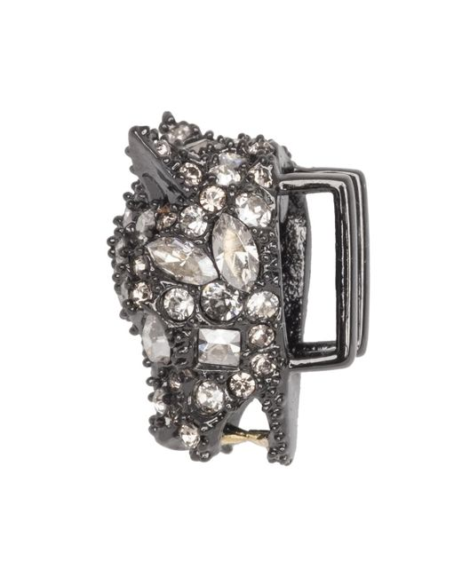 Alexis Bittar - Multicolor Gunmetal Tone Pave Panther Slide You Might Also Like - Lyst