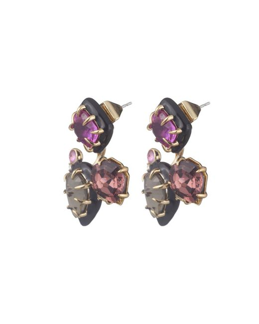 Alexis Bittar   Multicolor Custom Gemstone Stud Earring With Removable Ear Jacket You Might Also Like   Lyst