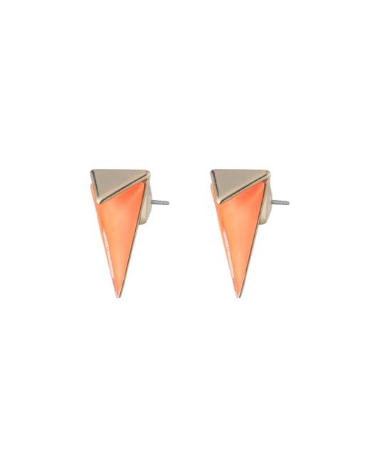 Alexis Bittar - White Faceted Pyramid Post Earring You Might Also Like - Lyst