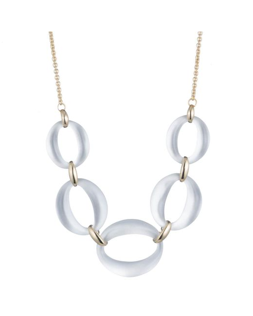 Alexis Bittar - Metallic Large Lucite Link Necklace You Might Also Like - Lyst