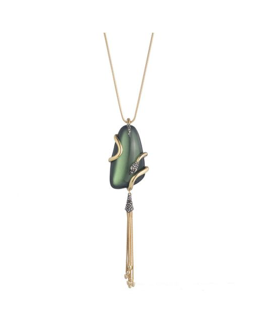 Alexis Bittar | Multicolor Wrapped Snake Pendant Necklace You Might Also Like | Lyst