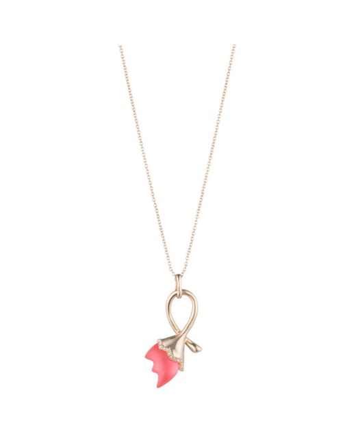 Alexis Bittar - Multicolor Abstract Tulip Pendant Necklace - Lyst