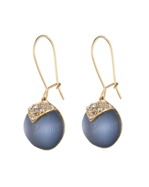 Alexis Bittar - Blue Origami Inlay Dangling Sphere Earring You Might Also Like - Lyst